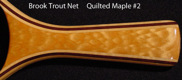 brook trout net quilte maple